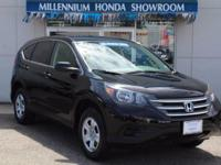 This Honda Certified CR-V LX  is a New Arrival at