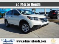 This 2014 Honda CR-V LX is proudly offered by Ed Morse