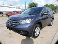 We are excited to offer this 2014 Honda CR-V. With the