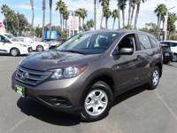 Options:  2014 Honda Cr-V Lx|Silver|Don't Let The Miles