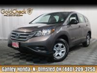 New Price! 2014 Honda CR-V LX CLEAN CARFAX ONE OWNER,