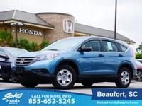 2014 Honda CR-V in Light Green. Stability and traction