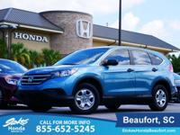 2014 Honda CR-V in Blue. Gasoline! Come to the experts!
