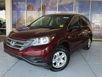 CR-V LX. CARFAX One-Owner. Clean CARFAX. Reviews:*