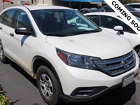 CARFAX One-Owner. Clean CARFAX. 2014 Honda CR-V LX FWD