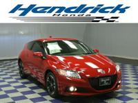 This 2014 Honda CR-Z 2dr 3dr Man EX Coupe includes a