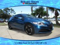 Drive in style with this CR-Z, call today to schedule