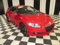 OVERVIEW This 2014 Honda CR-Z 2dr 3dr CVT EX features a