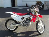 We didn't stop there. Thats since Hondas CRF250R is all