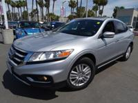 Options:  2014 Honda Crosstour Ex-L|Silver|Honda