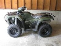 (573) 281-4257 ext.176 This 4-wheeler offers 4X4