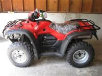 (573) 281-4257 ext.167 The Honda TRX500 has plenty of