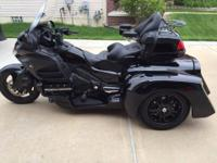 Custom 2014 Honda Goldwing GL 1800/Airbag Hannigan