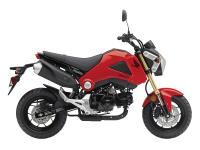 Practical: the Grom's thrifty Honda engine means you