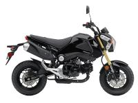 Practical: the Grom's thrifty Honda engine indicates