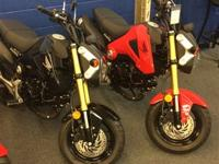 the brand-new Honda Grom. Enjoyable: This new device is
