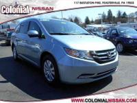 Here we have a 2014 Honda Odyssey EX which is a Carfax