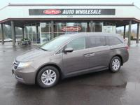 Sturdy and dependable, this Used 2014 Honda Odyssey EX