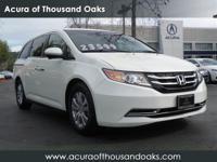 Options:  2014 Honda Odyssey Ex|White/|V6 3.5 L