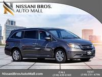 New Price! Gray 2014 Honda Odyssey EX-L FWD 6-Speed
