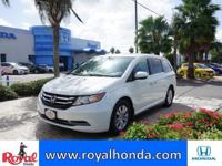 Options:  2014 Honda Odyssey Ex-L|This Vehicle Has A
