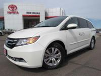 This 2014 Honda Odyssey comes equipped with heated