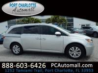 CARFAX One-Owner. Certified. Silver 2014 Honda Odyssey