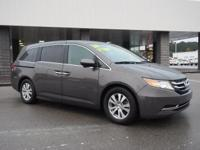 Check out this gently-used 2014 Honda Odyssey we