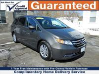 RECENT MADISON HONDA TRADE, LEATHER, and MOONROOF. Here