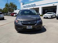 Options:  2014 Honda Odyssey Ex-L|Smokey