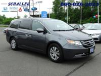 ONE OWNER, CLEAN CARFAX, and HONDA CERTIFIED. Odyssey