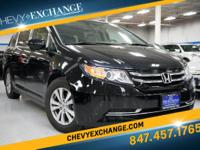 Options:  2014 Honda Odyssey Ex-L Crystal Black