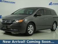 2014 Honda Odyssey EX-L in Modern Steel Metallic, This