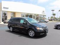 Options:  2014 Honda Odyssey Ex-L|Black|Greetings From