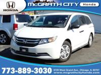 CarFax One Owner! This Odyssey is CERTIFIED! This 2014