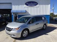 Options:  2014 Honda Odyssey Lx|Silver|**One