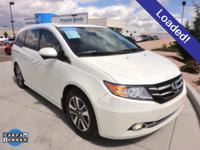 LOADED! CARFAX 1-Owner Vehicle! Right van! Right price!