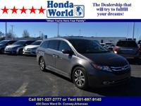 Load your family into the 2014 Honda Odyssey! Very