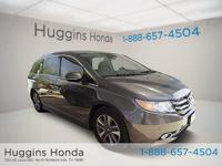 2014 Honda Odyssey Touring Elite Smoky Topaz Metallic