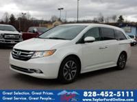 Options:  2014 Honda Odyssey Touring Elite|Touring