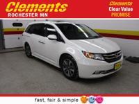Options:  2014 Honda Odyssey 5Dr Touring