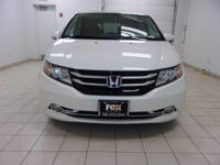 This 2014 Honda Odyssey Touring Elite is proudly