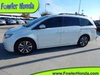One Owner Clean Carfax, Complete Fowler Honda Service