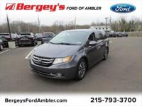 . 2014 Honda Odyssey Touring FWD 6-Speed Automatic 3.5L