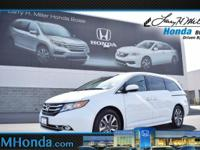 Snatch a score on this certified 2014 Honda Odyssey