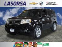 LOW MILES, This 2014 Honda Pilot EX-L will sell fast