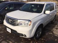 This outstanding example of a 2014 Honda Pilot EX is