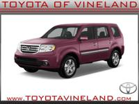 6 Cylinder  Options:  Automatic|This 2014 Honda Pilot