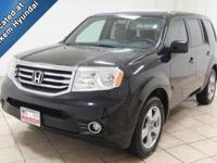 This 2014 Honda Pilot is a third-row SUV with low miles