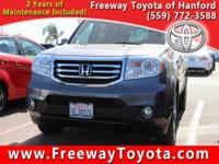 CARFAX One-Owner. Clean CARFAX. Gray 2014 Honda Pilot